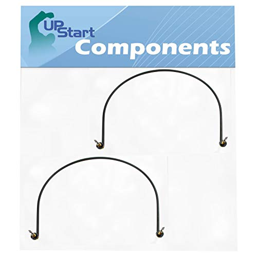 2-Pack W10518394 Dishwasher Heating Element Replacement for Whirlpool WDF320PADB3 - Compatible with W10134009 Heater Element
