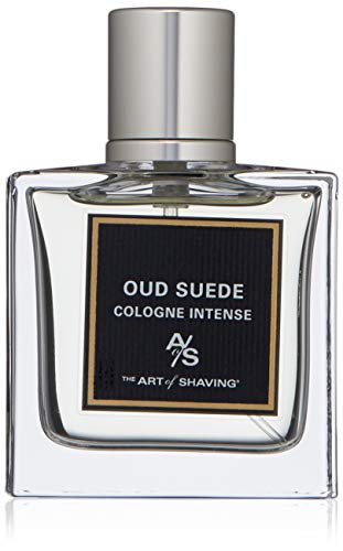The Art of Shaving Cologne Intense, Oud Suede, 1.0 Fl Oz