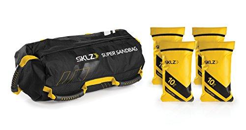 SKLZ Super Sandbag Heavy Duty Training Weight Bag (10 - 40 Pounds)