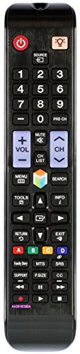 Vinabty New AA59-00580A Replace Remote Fit for Samsung UN32EH5300 UN32EH5300F UN32EH5300FXZA UN40EH5300F UN40ES6100F UN40ES6100FXZA UN40ES6150F UN46ES6100F UN46ES6150 UN46ES6150F UN50EH5300 LCD LED Tv
