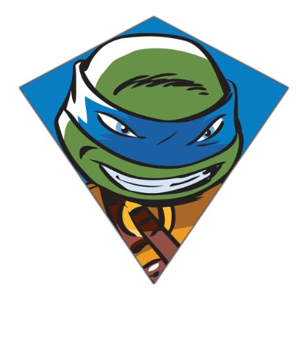 Nickelodeon Teenage Mutant Ninja Turtles 23'-Wide Nylon Diamond Kite--'Leonardo'