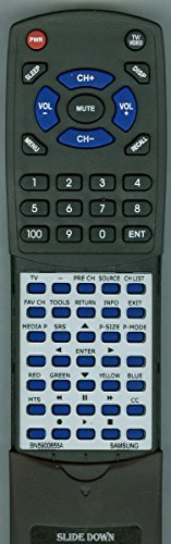 Replacement Remote Control for Samsung PN58B540, BN5900855A
