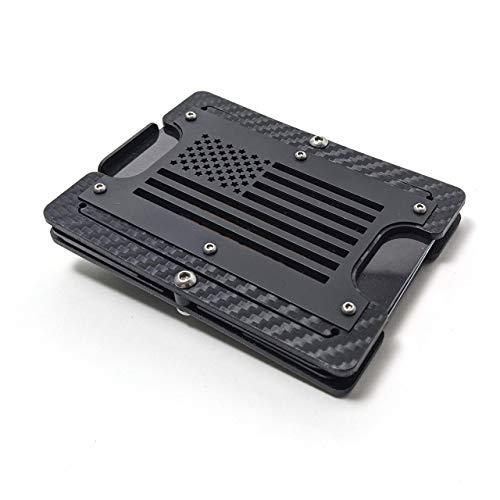 MGear Patriot Gunmetal Carbon Ultimate Edition. Minimalist Holstex Tactical EDC Multitool Wallet.
