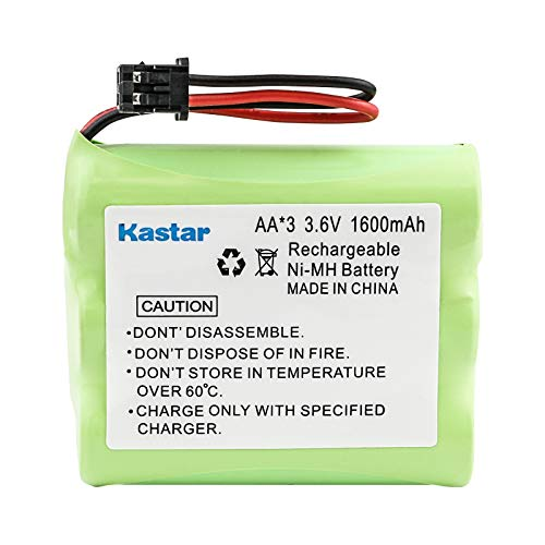 Kastar High Capacity Cordless Phone Battery Replacement for Uniden BT800 BT-800 BT-905 BP-800 BP-905, GE TL-96560, Cobra, Panasonic HHR-P505 P-P501 P-P504 P-P508 P-P510, Sharp, Sony BP-T18 BP-T24