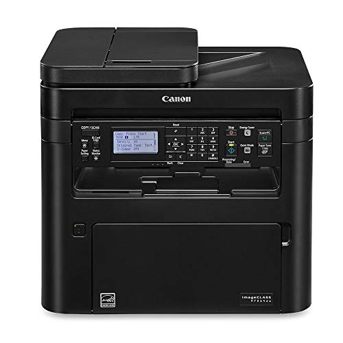 Canon Image CLASS MF264dw (2925C020) Multifunction, Wireless Laser Printer, AirPrint, 30 Pages Per Minute and High Yield Toner Option