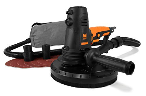 WEN 6362 10-Amp Variable Speed Handheld Drywall Sander with Sandpaper, Dust Hose and Collection Bag
