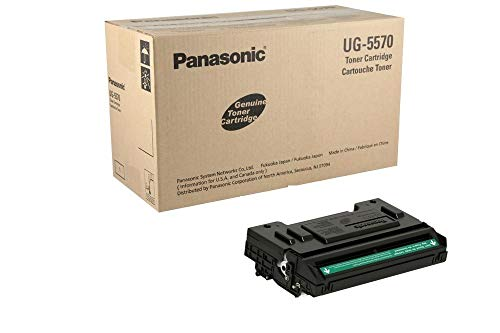 Panasonic Products - Panasonic - UG5570 Toner, 10000 Page-Yield, Black - Sold As 1 Each - Produces dark lines and solid shades. - Reliable and dependable. - Integrates seamlessly with your machine.
