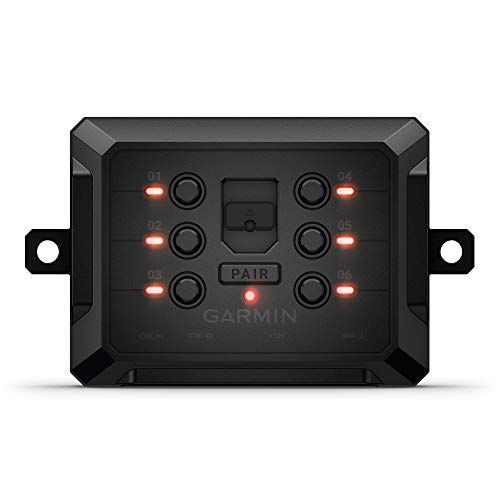 Garmin PowerSwitch, 6 Gang Compact Digital Switch Box, Requires Compatible Garmin Navigator or Smartphone, Switch Panel for Car SUV UTV ATV Caravan Boat Marine