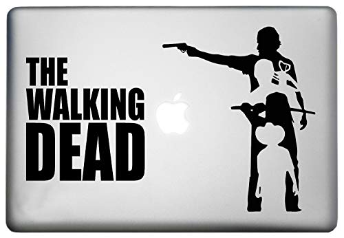 Walking Dead Skin Sticker Decal MacBook Pro is a Walking Dead People Decal. Laptop Sizes 11, 12, 13 and 15 inch. Looks Great with Your Walking Dead Poster Decals. Many Colors-Black