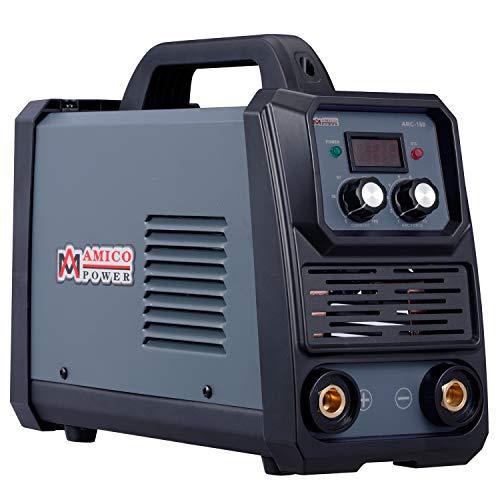 Amico ARC-160, 160-Amp Stick Arc & Lift-TIG Combo Welder, 100-250V Wide Voltage, 80% Duty Cycle, Compatible with all Electrodes: E6010 E6011 E6013 E7014 E7018 ect.