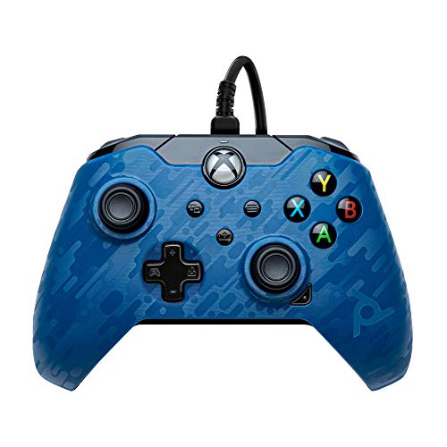 PDP Gaming Wired Controller: Revenant Blue - Xbox Series X|S, Xbox One, PC - Summer 2021 Model