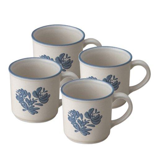 Pfaltzgraff Yorktowne Coffee Mug (12-Ounce, Set of 4)
