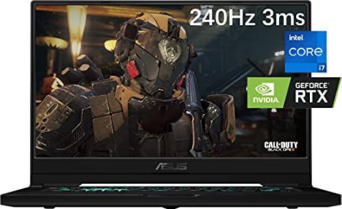 2021 Newest ASUS TUF Dash 15.6' Gaming Laptop, 240Hz FHD, Intel Core i7-11370H, Nvidia RTX 3070, 24GB DDR4 RAM, 1TB NVMe SSD, Thunderbolt 4, WiFi 6, VR Ready, HDMI, Win10, Ghost Manta Accessories