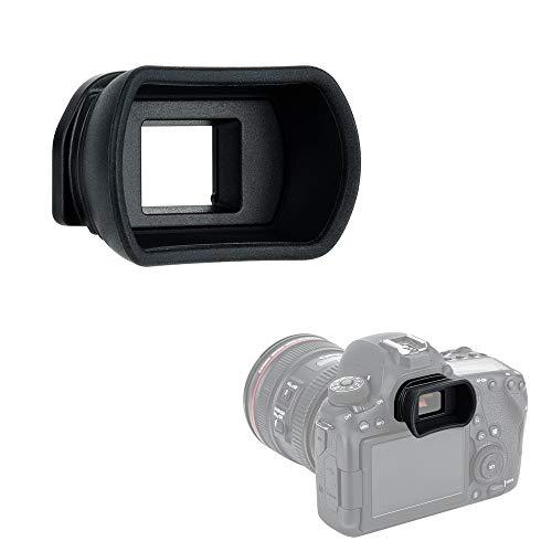 Kiwifotos Long Soft Viewfinder Eyecup Eyepiece for Canon EOS 90D 80D 70D 60D 77D 6D Mark II 5D Mark II Rebel T7 T6 T5 T100 T8i T7i T6s T6i T5i T4i T3i T2i T1i SL3 SL2 SL1 4000D 50D 40D 30D and More