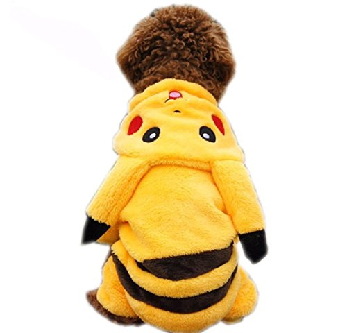 Pet Costumes Pikachu Fancy Outfit, Small