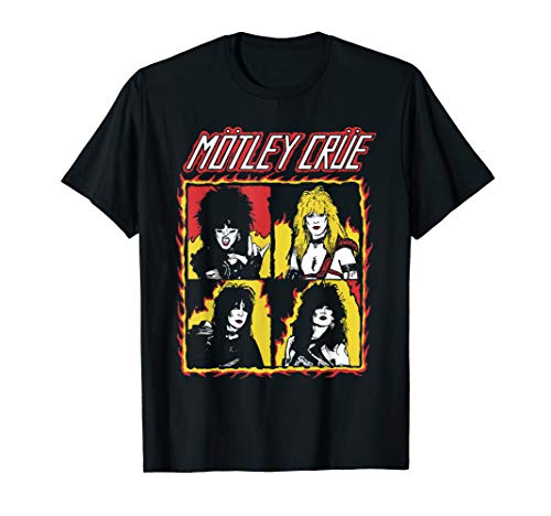 Shout At The Devil Flames Tee T-Shirt