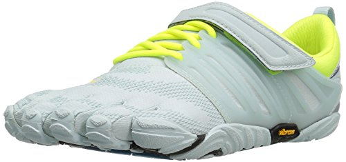 Vibram Women's V-Train Cross-Trainer Shoe, Pale Blue/Safety Yellow, 36 EU/6 M US