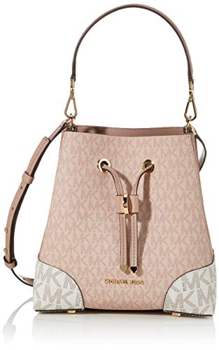 Michael Kors Mercer Gallery 30S0GZ5L1V-641 Ballet Pink Leather Shoulder Bag