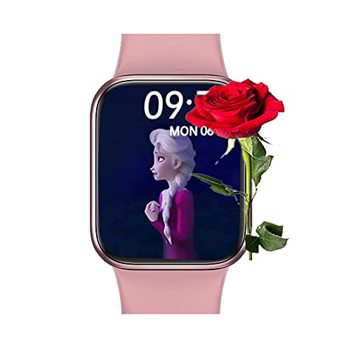 MeadZhou Full Screen Smart Watch for Android and iOS Phone Compatible Samsung,IP 67 Waterproof,Fitness Tracker with Bluetooth Call,Heart Rate Monitor,Blood Oxygen Detection Watches for Men Women