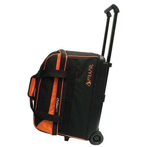 Pyramid Prime Double Roller Bowling Bag (Orange)