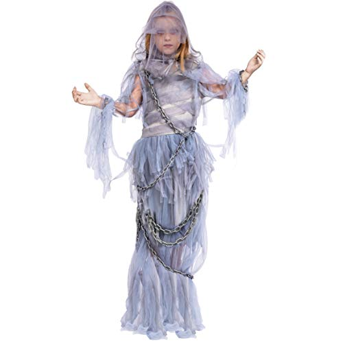 Spooktacular Creations Haunting Beauty Ghost Girl Costume (Medium 7-9)