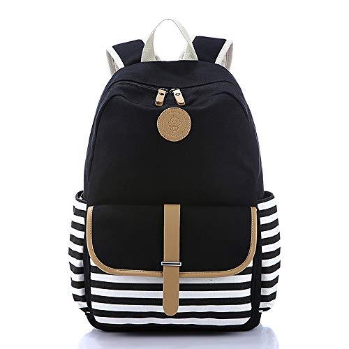 Backpack for Women Lightweight Canvas Travel College Laptop Backpack School Computer Bag