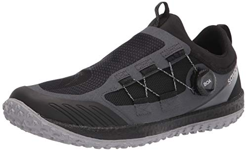 Saucony Men's Switchback 2 Trail Running Shoe, Black/Charcoal, 9.5