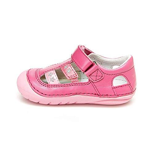 Stride Rite Girls Soft Motion Aurora Sandal, PINK MULTI, 3 M US Infant