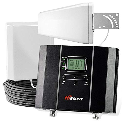 HiBoost 10K - Cell Phone Signal Booster w/ 10,000 sq ft Coverage - Boost Your Bars