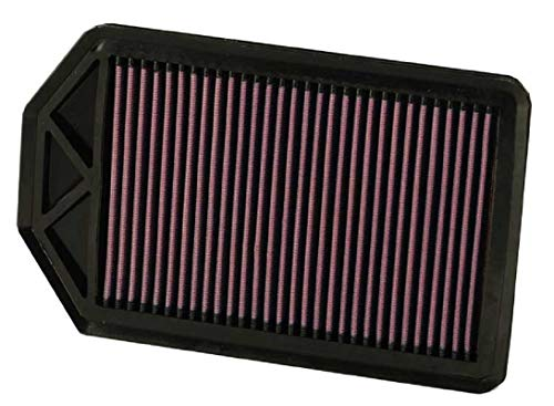 K&N Engine Air Filter: High Performance, Premium, Washable, Replacement Filter: Fits 2007-2009 HONDA (CR-V), 33-2377