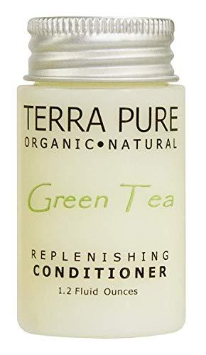 Terra Pure Green Tea Conditioner, 1.2 Oz. In Jam Jar With Organic Honey And Aloe Vera (Case of 300)