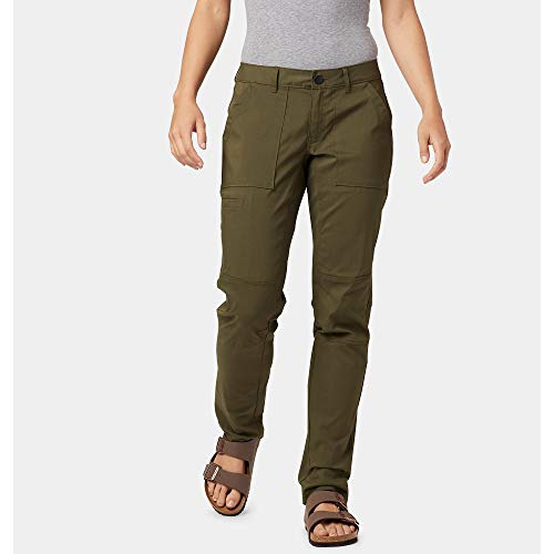 Mountain Hardwear Women's AP Pant with Roll-Up Snap - Dark Army - 4W x 32L