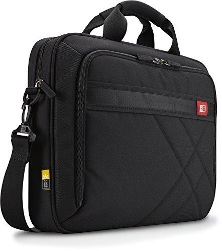 Case Logic 17-Inch Laptop and Tablet Briefcase, Black (DLC-117)