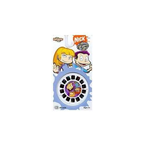 ALL GROWN UP Rugrats - ViewMaster 3 Reel Set
