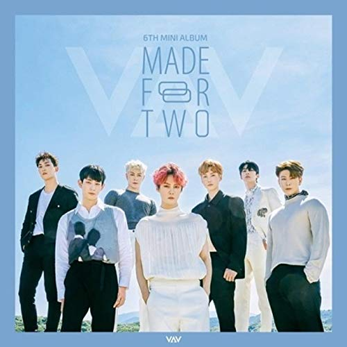 VAV Made for Two 6th Mini Album CD+120p PhotoBook+1p PhotoCard+1p Polaroid+Message PhotoCard Set+Tracking Kpop Sealed