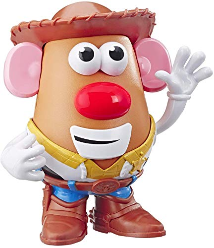 Mr Potato Head Disney/Pixar Toy Story 4 Woody's Tater Roundup Figure Toy for Kids Ages 2 & Up, E3727