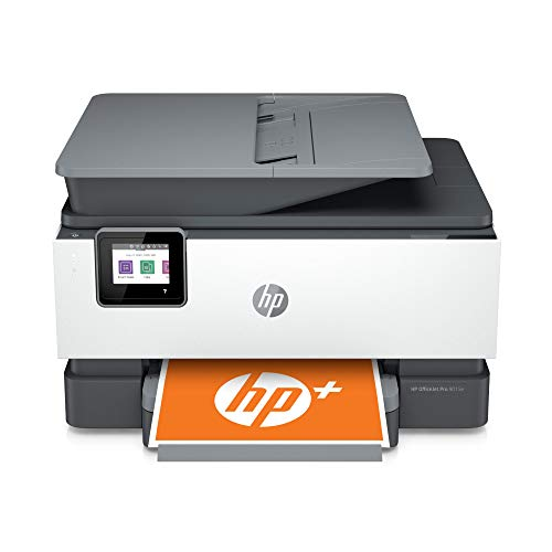 HP OfficeJet Pro 9015e All-in-One Wireless Color Printer for home office, with bonus 6 months free Instant Ink with HP+ (1G5L3A)