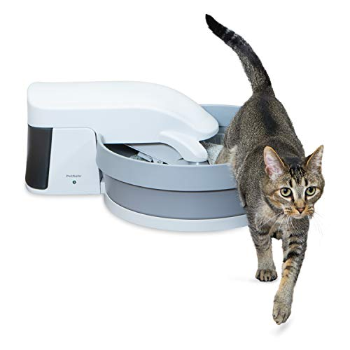 PetSafe Simply Clean Self Cleaning Cat Litter Box, Automatic Litter Box, Works with Clumping Cat Litter