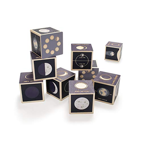 Uncle Goose Moon Phase Blocks - Made in The USA