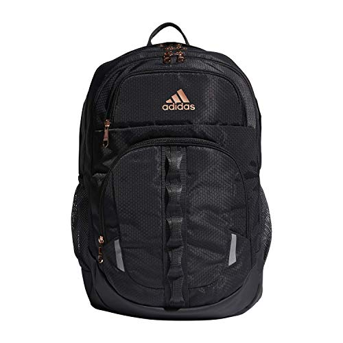 adidas Unisex Prime Backpack, Carbon/ Rose Gold/ Onix, ONE SIZE