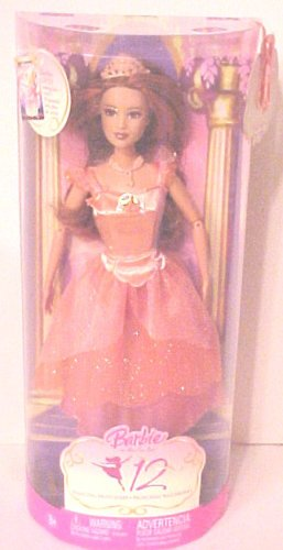 Mattel Barbie in The 12 Dancing Princesses - Princess Edeline Doll