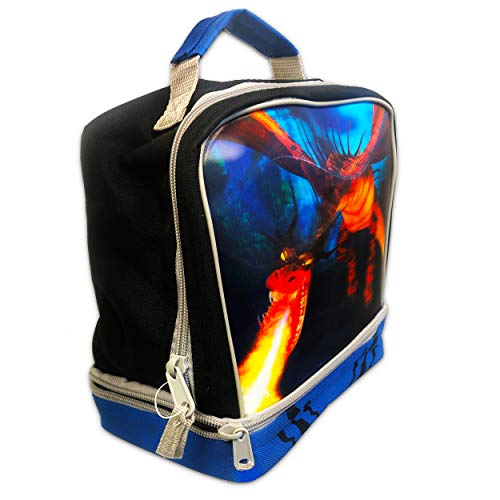 How to Train Your Dragon Lunch Box ~ Dual Compartment Insulated Lunch Bag