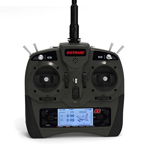 Detrum 2.4G GAVIN-8C 8CH TX Transmitter & Istone SR86A 8CH Rx Receiver With 6-Axis Gyro Programmable ABS Auto Balance Function