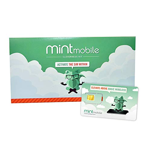 $15/Month Mint Mobile Wireless Plan   4GB of 5G • 4G LTE Data + Unlimited Talk & Text for 3 Months (3-in-1 GSM SIM Card)