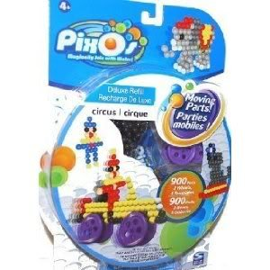 Toy / Game PixOs Deluxe Refill Circus w/ special moving parts to create moving designs + Double Sided Templates