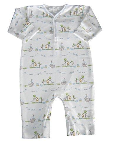 Kissy Kissy Baby Boys' Noah's Print Playsuit, Blue, 0-3 Months