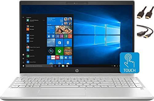 2020 HP 15.6' FHD Touchscreen Laptop Computer, 10th Gen Intel Quad Core i5-1035G1, 802.11ac WiFi, HDMI, Windows 10 + CUE Accessories (12GB DDR4 | 256GB SSD)