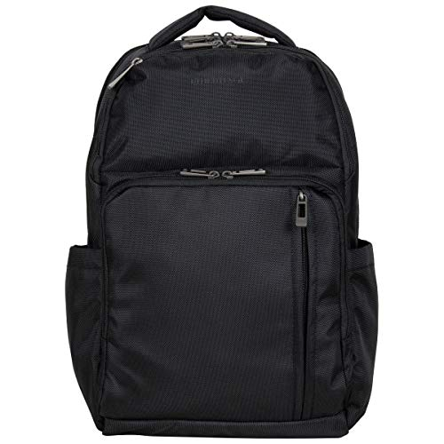 """Heritage Travelware ProTec Checkpoint Friendly 16"""" Laptop & Tablet Business Travel Backpack, Black, Laptop"""