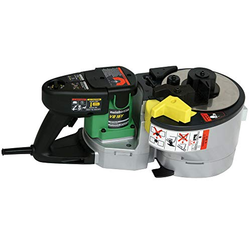 Metabo HPT Electric Rebar Bender and Cutter   Up to #5 Grade 60 Rebar (3/8', 1/2', 5/8')   Variable Speed Trigger   Lightweight and Portable   5-Year Warranty   VB16Y