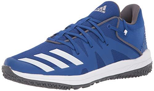 adidas Men's Speed Turf Baseball Shoe, Collegiate Royal/FTWR White/Grey Five, 10.5 M US